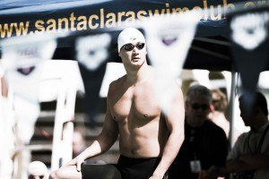 Nathan Adrian 50 free prelims Santa Clara Pro Swim (photo: Mike Lewis, Ola Vista Photography)