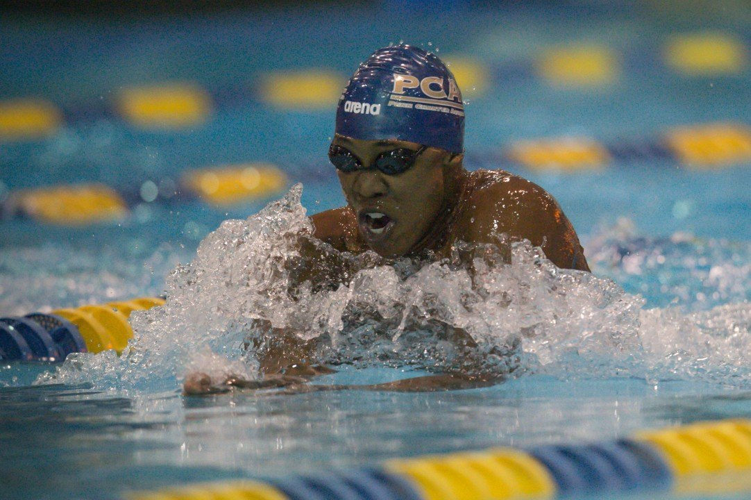 Reece Whitley Breaks 15-16 NAG With 1:53.66 In 200 Yard Breast