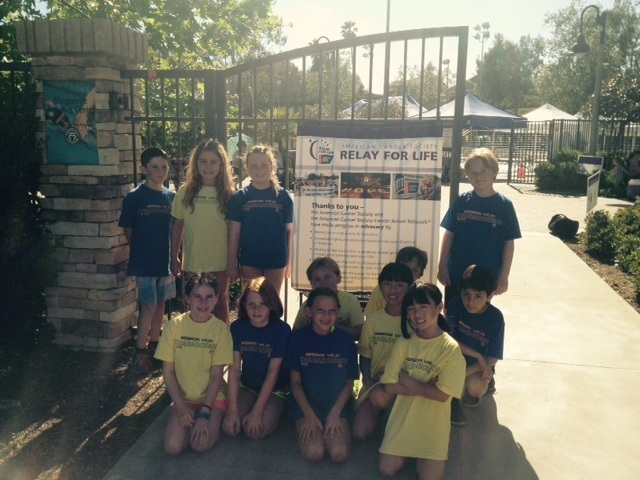 Mission Viejo Nadadores raise over $4500 in Relay For Life event