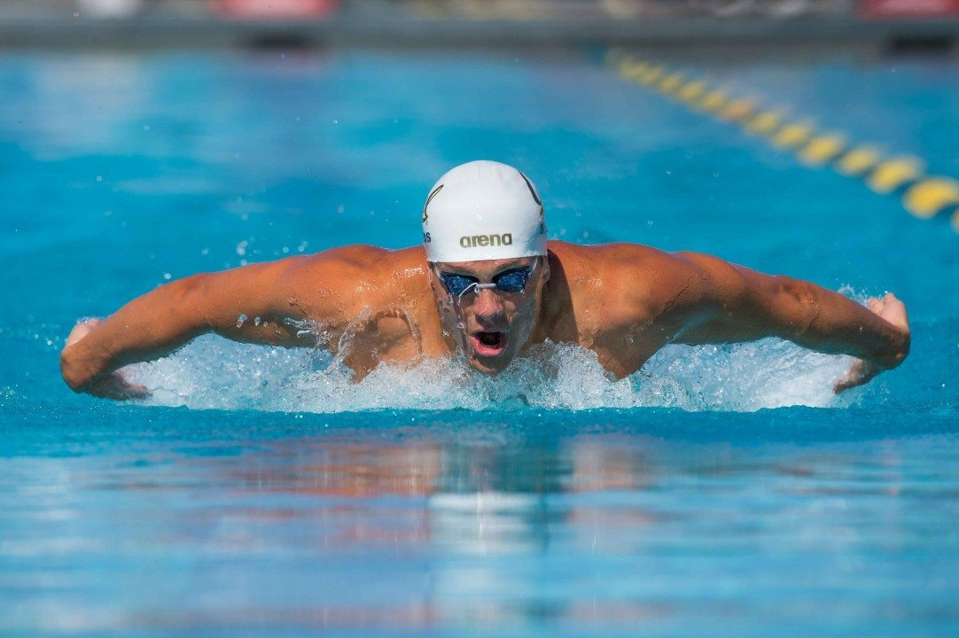 Shields Hits 51.73 100 Fly in Last Session of LA Invite