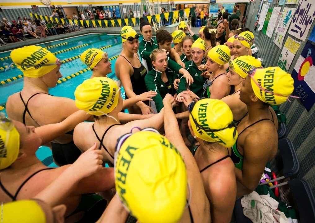 Vermont Swimming and Diving Recognized as Scholar All-America Team