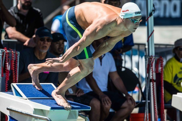 Vladimir Morozov 100 free prelims Santa Clara 2015 (photo: Mike Lewis, Ola Vista Photography)