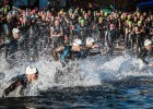 open water swimming (courtesy of Challenge Family Americas)
