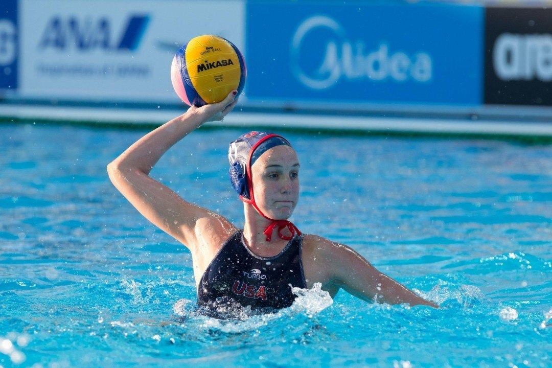 USA, Canada Women's Water Polo Win Group Titles at Pan American Games