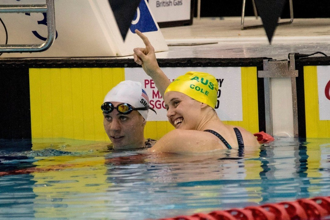 Ellie Cole Breaks IPC World Record in the Women's 50 Freestyle
