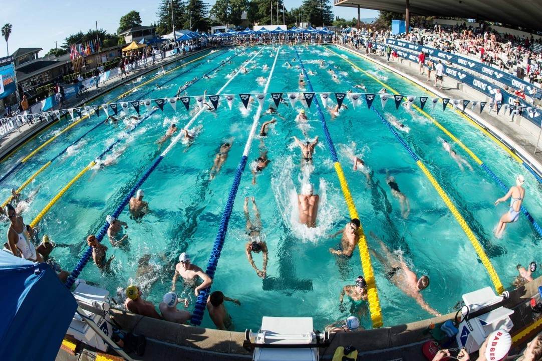 Santa Clara Leads USA Swimming's 50 Top Swim Cities of 2016