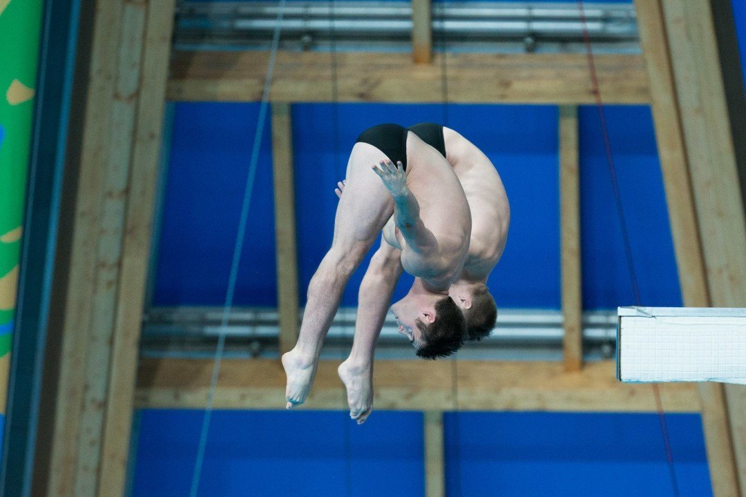 David Boudia Named 2016 USA Diving Diver of the Year