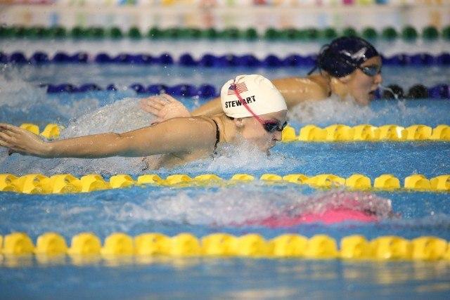 Kylie Stewart - Day 1 prelims Toronto 2015 Pan Am Games