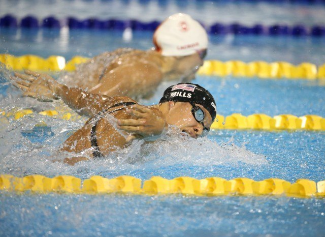 Toronto 2015 Pan am Games - Audrey Lacroix wins 200 fly gold day 1