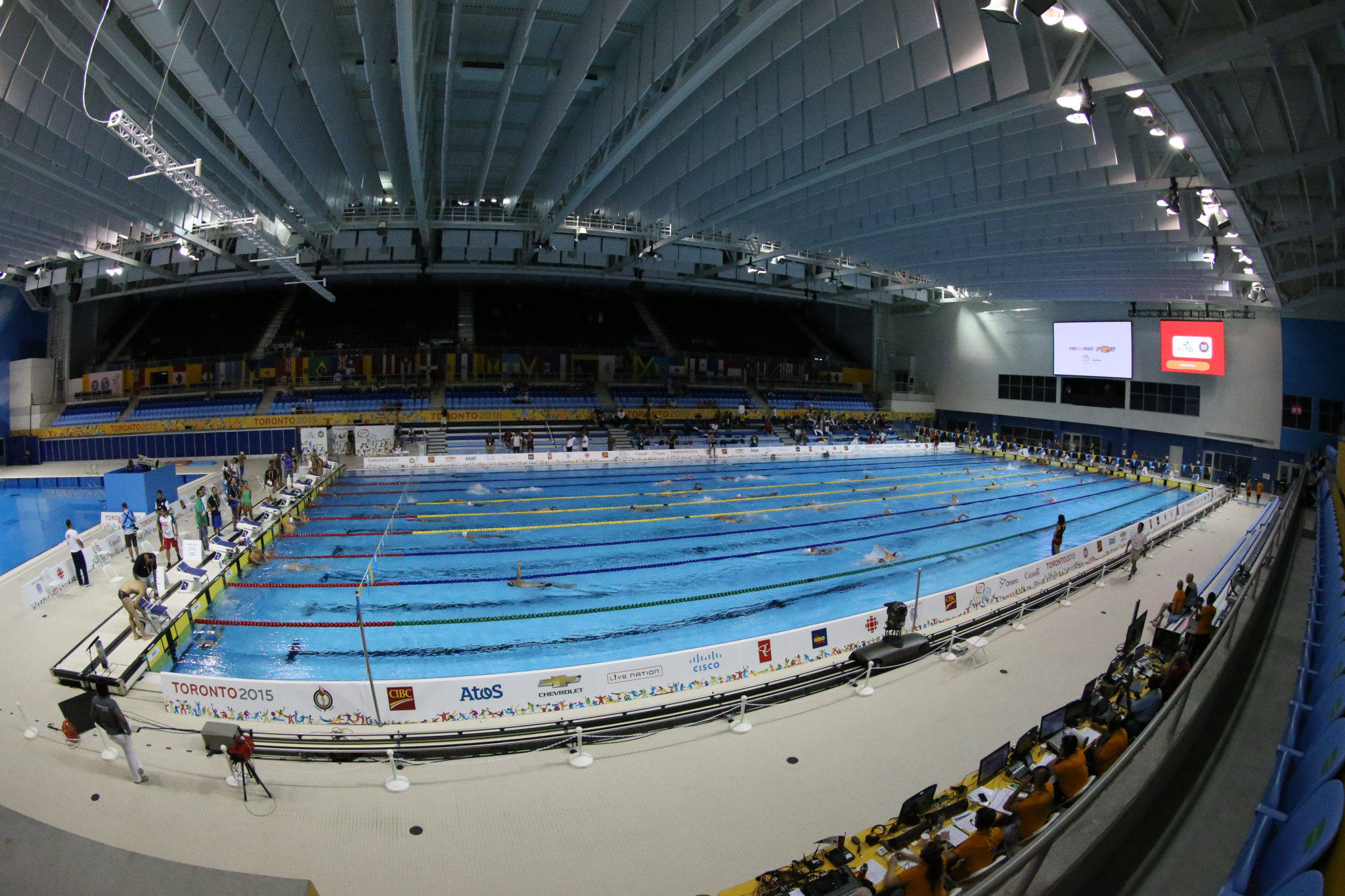 Toronto Pan Am Pool Chosen to Host 2020 Canadian Olympic Trials
