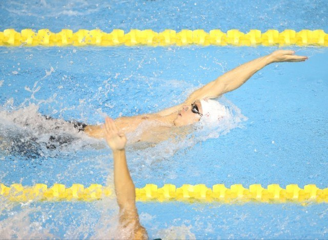 Toronto 2015 Pan American Games - Russell Wood 200 back day 2 prelims