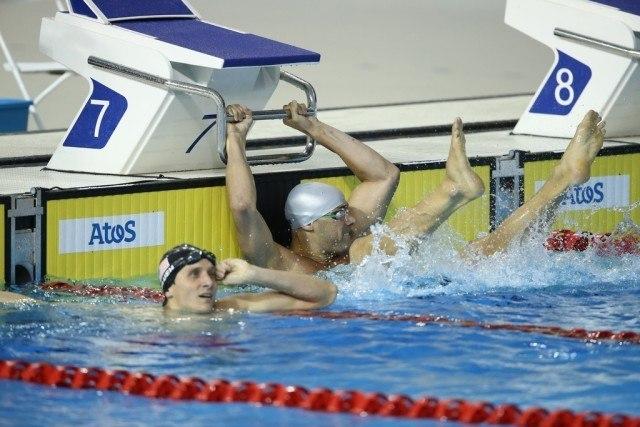 Toronto 2015 Pan American Games - Joao De Lucca 200 free win feet clap