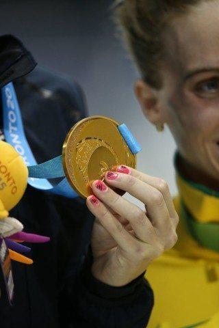 Toronto 2015 Pan American Games - Allison Schmitt gold 200 free