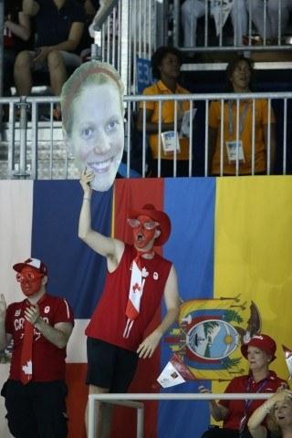 Toronto 2015 Pan American Games -  MArtha McCabe head 200 br