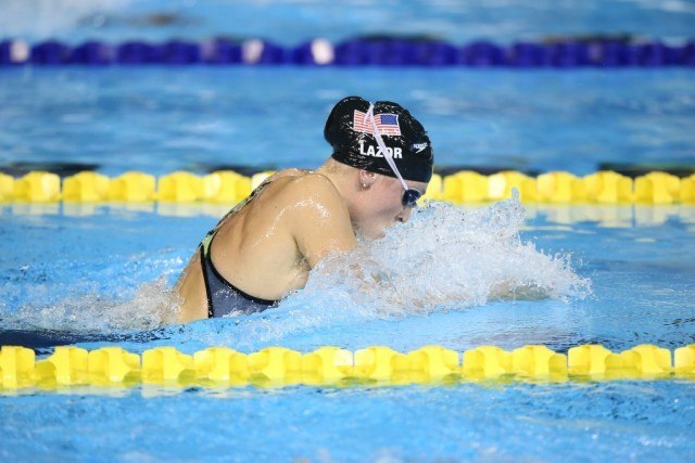 Toronto 2015 Pan American Games -  Annie LAzor 200 br