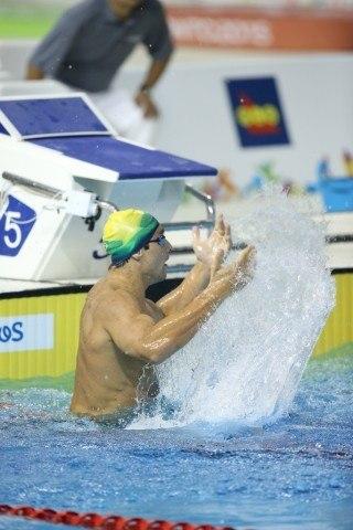 Toronto 2015 Pan American Games - Thiago Simon wins 200 breast