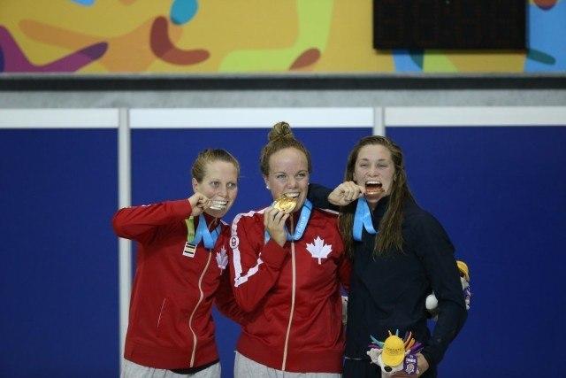 Toronto 2015 Pan American Games -  Kierra Smith MArtha McCabe 1-2 finish