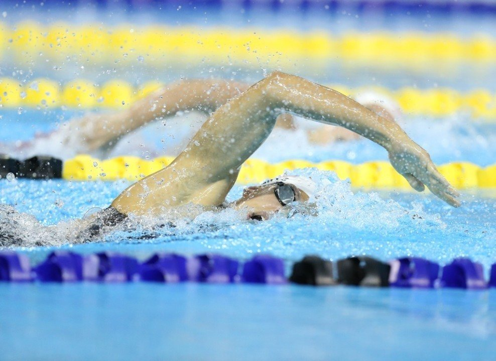 Caitlin Leverenz Breaks 16-year-old 400m IM Record At Pan Ams