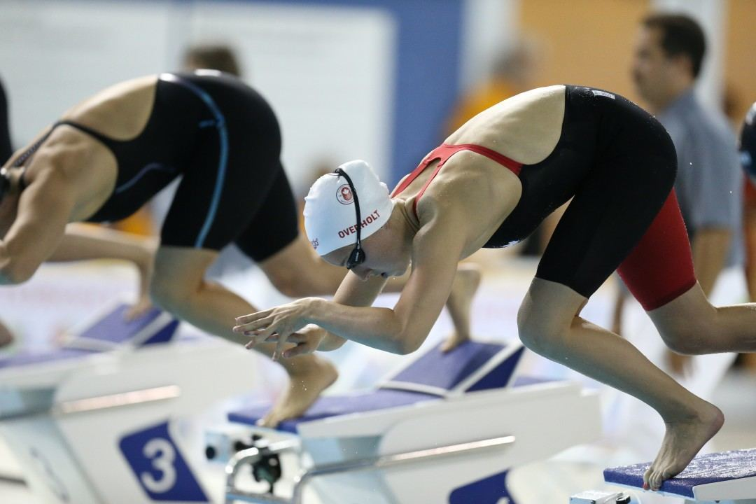 2015 Swammy Awards: Emily Overholt, Canadian Female Swimmer of the Year