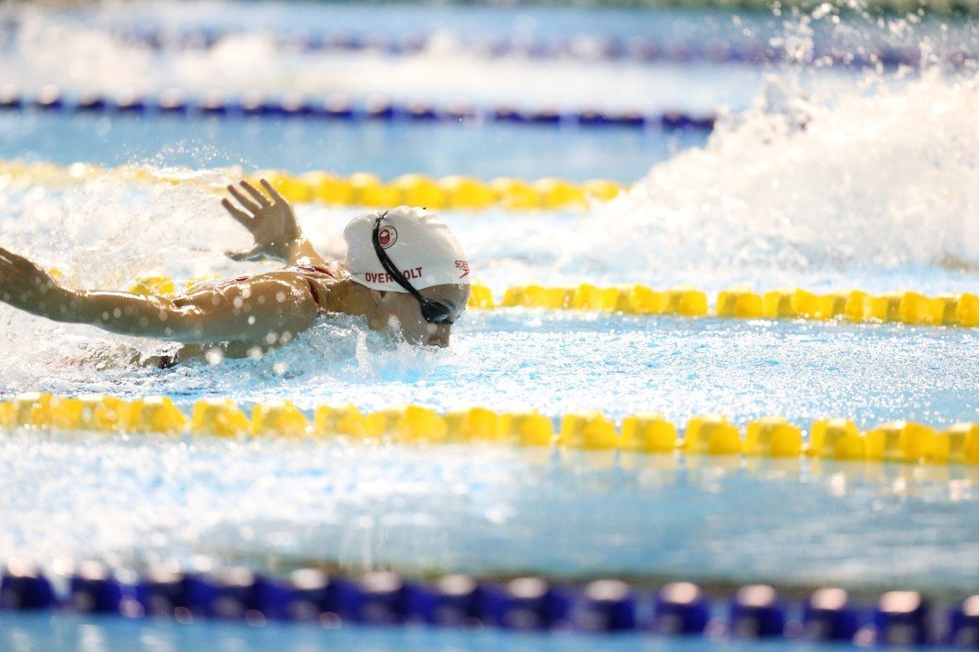 Overholt, Padington Swim Season-Bests To Open Canadian Pan Pac Trials