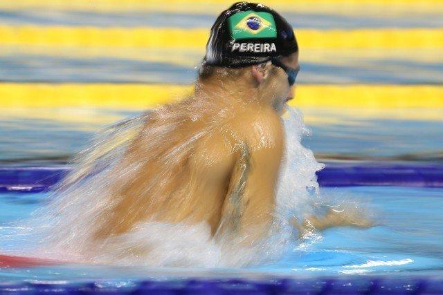 Thiago Pereira swims the 200m IM - Toronto 2015