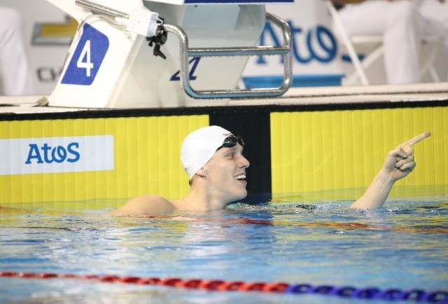 Henrique Rodrigues wins the 200m IM at the Toronto 2015 Pan American Games