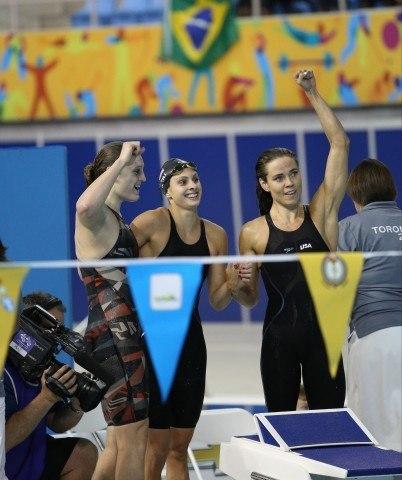 Natalie Coughlin wins 60th international medal - Toronto 2015