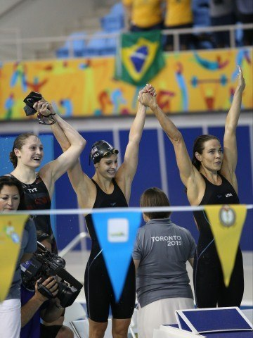 Natalie Coughlin wins 60th international medal - Toronto 2015
