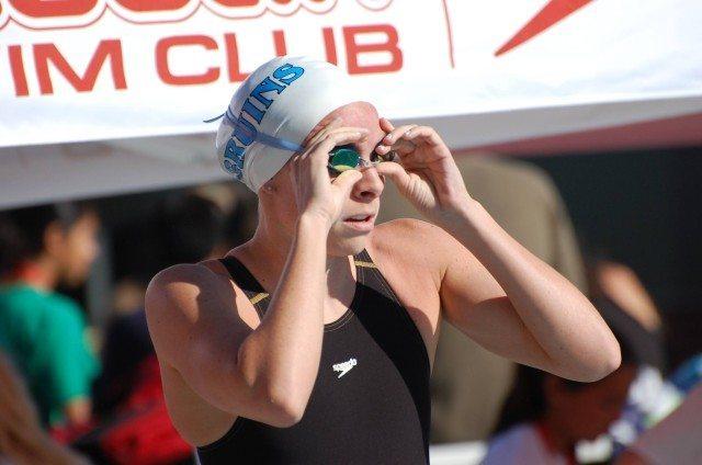 Bruin Swim Club's Noelle Tarazona. Photo: Anne Lepesant
