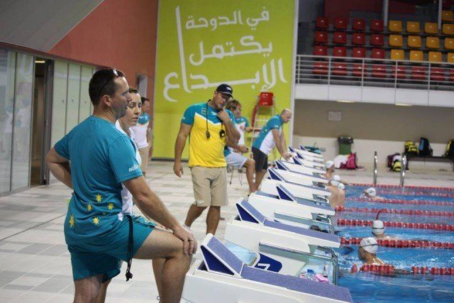 Australia's 2015 Worlds Staging Camp in Doha