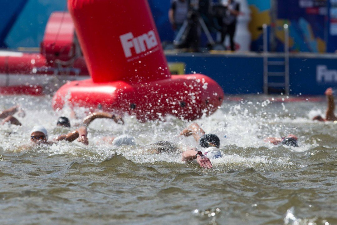 FINA Bylaw Changes Modify OW Team Races, Mandate Wetsuits Below 18°