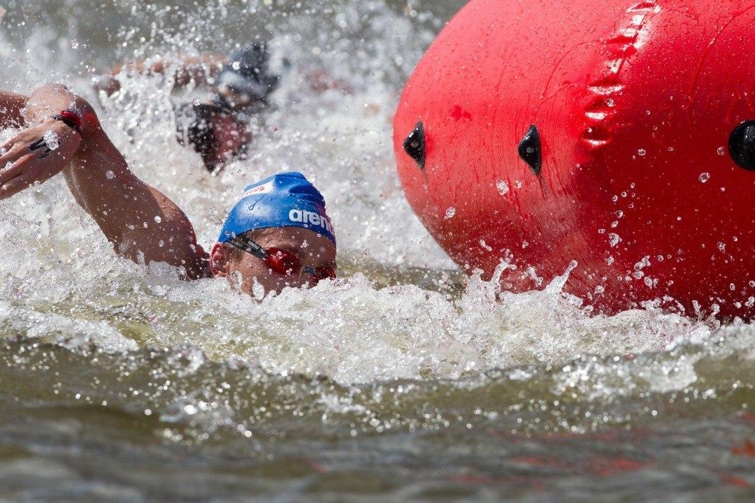Reichert and Bruni Winners of 2015 FINA 10k Marathon Swimming World Cup