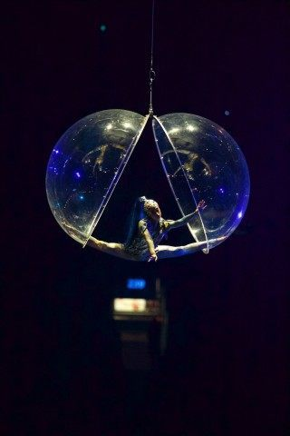 Toronto -- Cirque Du Soleil performed a one of a kind performance for the opening ceremonies of the Toronto 2015 Pan Am games at the Pan Am Dome. July 10, 2015.