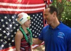 Jason Lezak, courtesy of the Mutual of Omaha BREAKOUT Swim Clinic