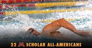 Minnesota Lands 22 Scholar All-Americans