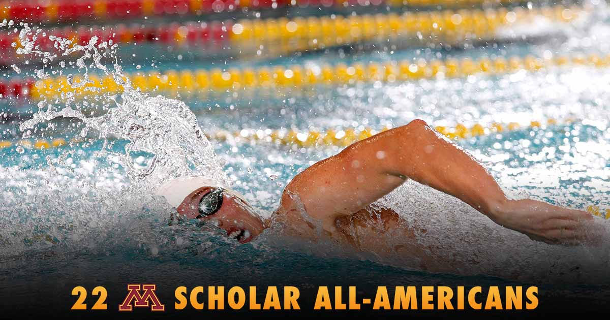 Minnesota Lands 22 Scholar All-Americans