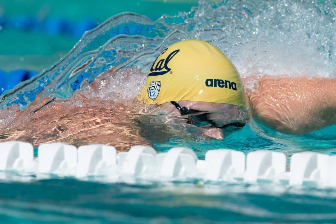 Murphy Sprints Free, Cal Wins 5 of 6 At Triple Distance Vs Stanford