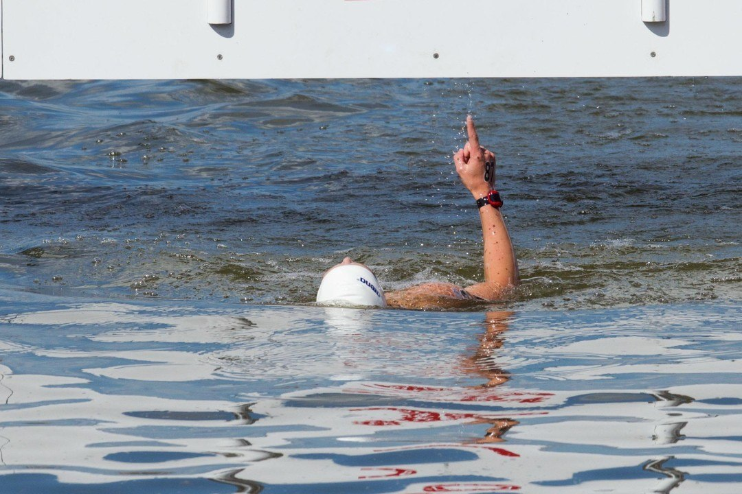 USA 1st Overall in Team Open Water Scores at FINA World Championships
