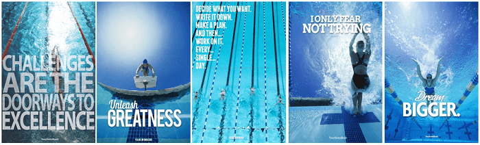YSB Motivational Swimming Posters