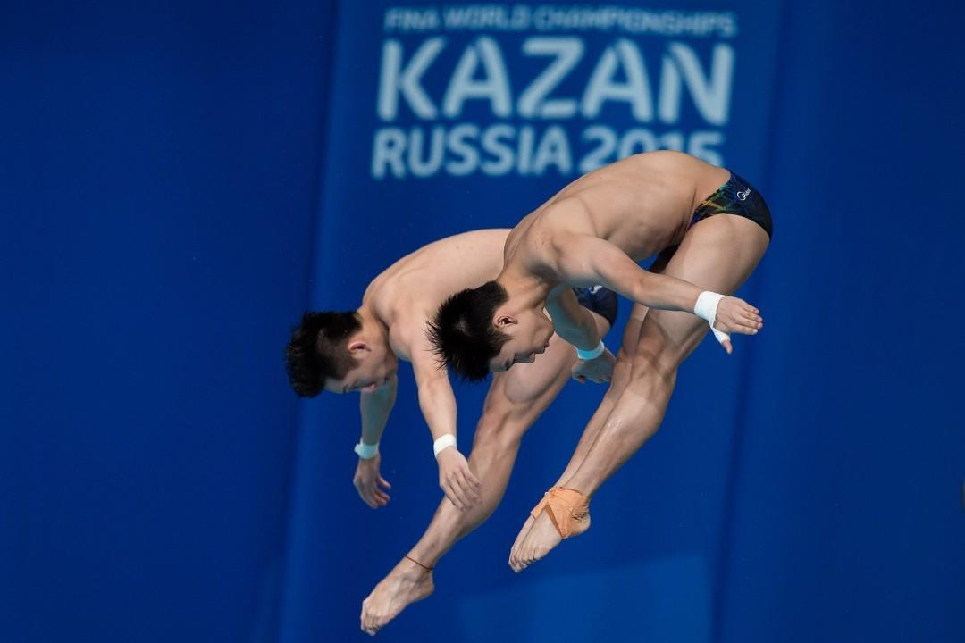 China Wins It All At The Diving World Series In Kazan