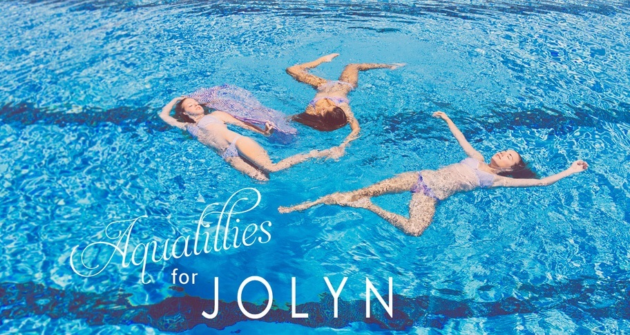 Aqualillies for JOLYN: July Lookbook