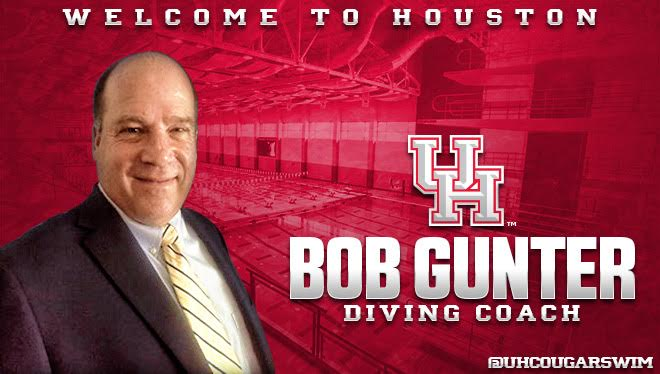 Gunter Joins Houston Cougars as Diving Coach