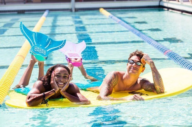Anthony Ervin & Arianna Vanderpool Wallace, FINIS (courtesy of Becca Wyant)