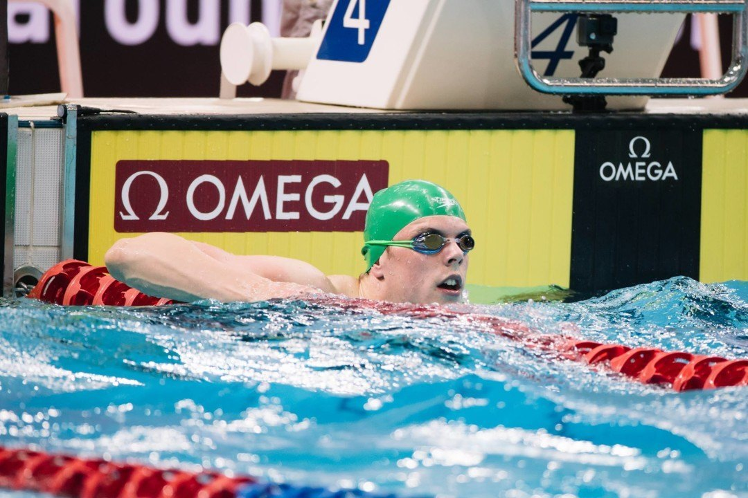 Chalmers Wins 200 IM, 50 Back On Day 3 Of South Aussie States