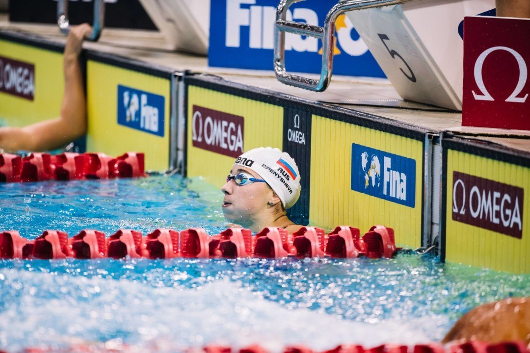 Russia Names 38 Member Team for European Short Course Championships