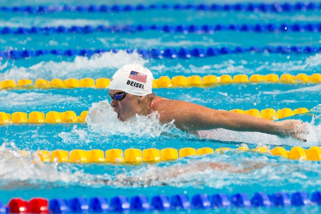 """Gregg Troy on Elizabeth Beisel: """"She's in a Really Good Spot Right Now."""""""