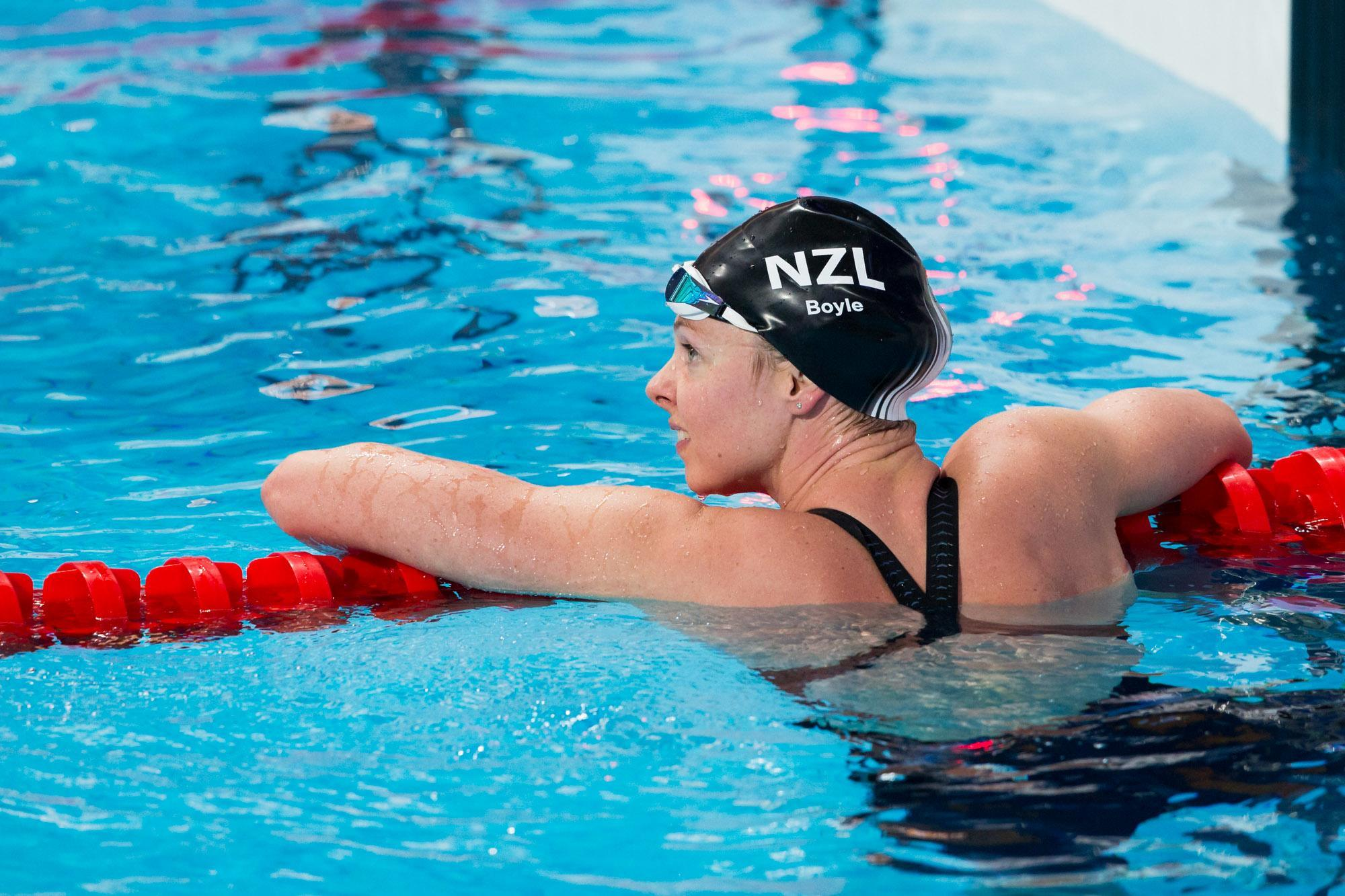 Kiwi swimmer Lauren Boyle announces retirement