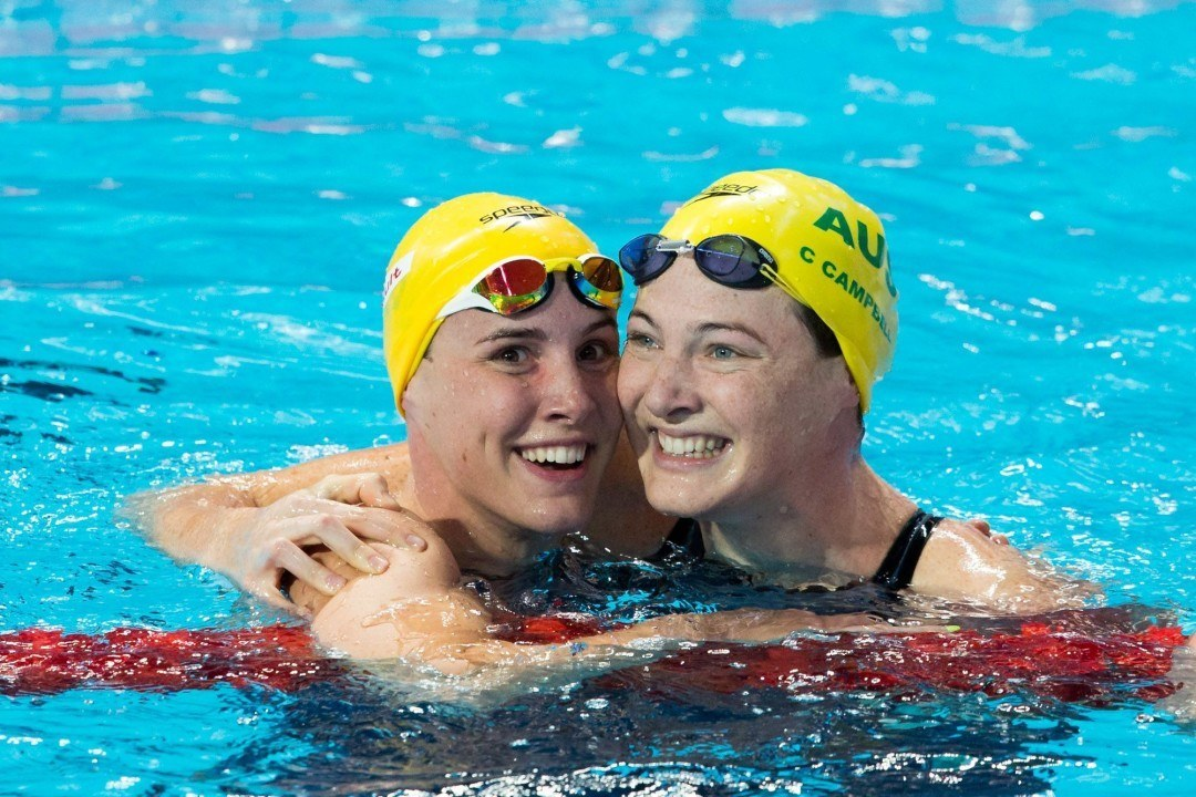 Rio 2016 Olympic Previews: Australia Chasing WR in Women's 400 Free Relay