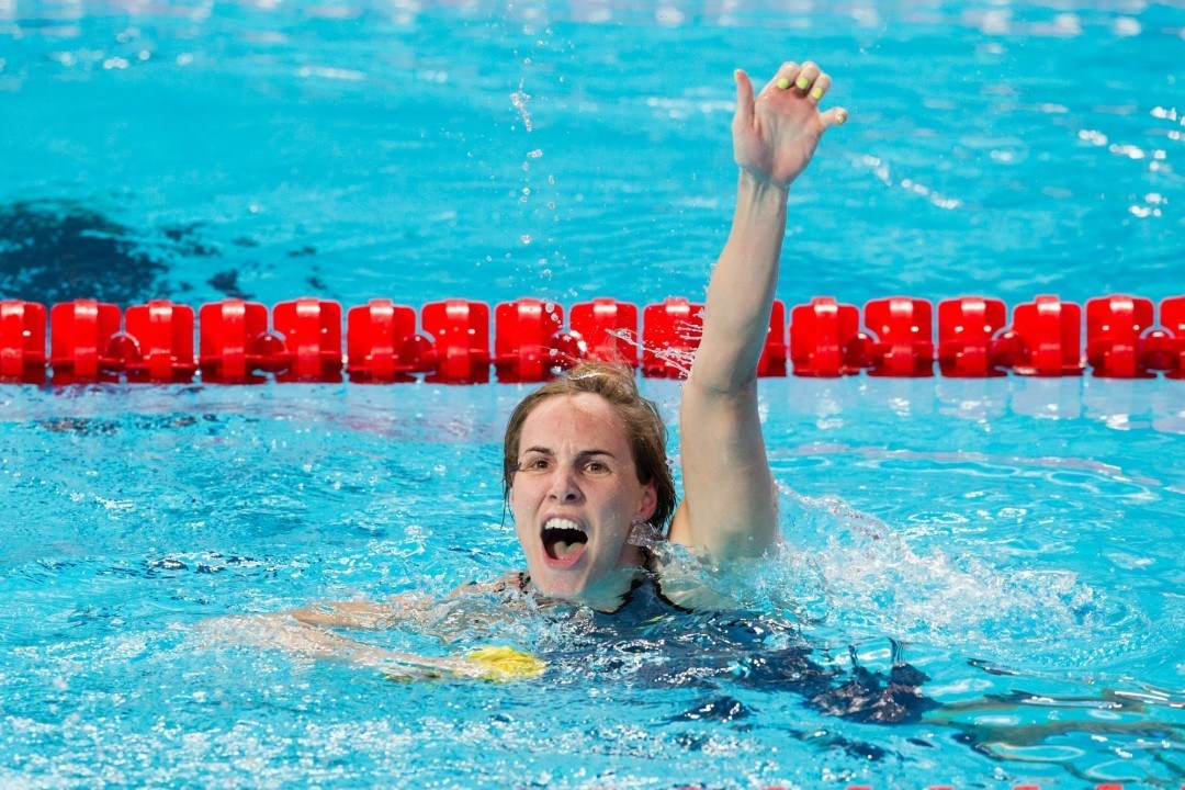 2015 Swammy Awards – Female Breakout SOTY – Bronte Campbell