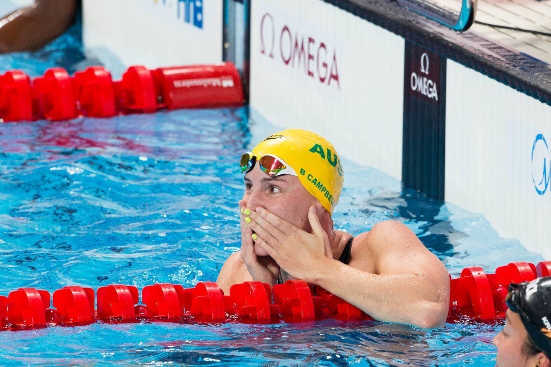 Bronte Campbell, Emily Seebohm Headed to Singapore World Cup